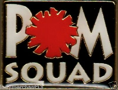 """POM SQUAD"" Red Pom, Enamel Lapel Pins/ALL NEW/25!"