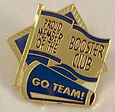 """Proud Member of the Booster Club/Go Team"" Lapel Pins/Lot of 25/All New!"