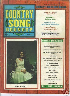 Loretta Lynn  Covers Country Song Roundup 1970