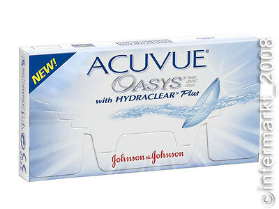 Acuvue OASYS Hydraclear PLUS  1×6  Non-Stop-Linsen 2-Wochenlinsen  Neu&OVP