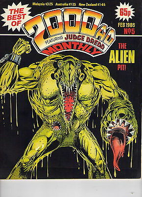 2000Ad Monthly # 5 / Fine / 1986.