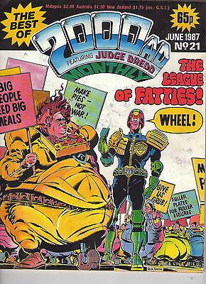 2000Ad Monthly # 21 / Fine- / 1987.