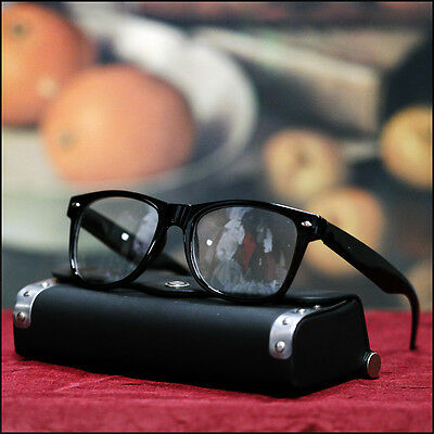 New Mens Womens Retro Eyewear Glasses Geek Nerd Clear Lens Trendy Neon Fashion