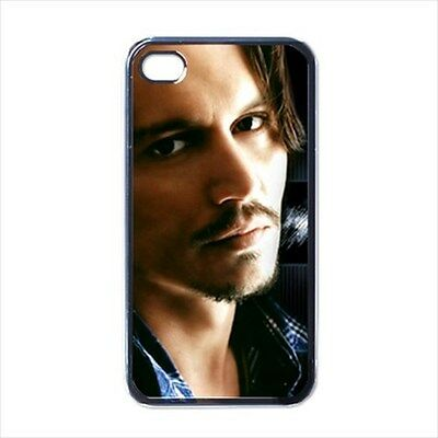 One and Only Johnny Depp Collectible Rare Photo iPhone 4 Case