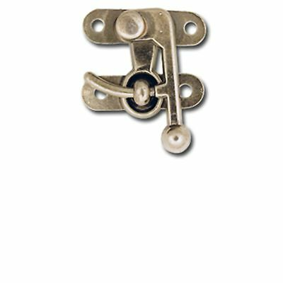 Tandy Leather Small Antique Nickel Bag Clasp # 1306-11