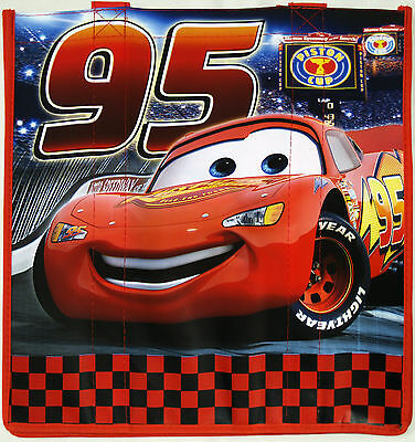 Disney Store Pixar's CARS Ecology Reusable Shopping Bag New Tote w/Tag Style 1