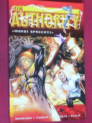 AUTHORITY  N°6 MAGIC PRESS- MONDI SPACCATI DI: Morrison -NUOVO-