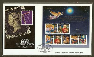 GB - 2011 NPS's Christmas Ideal Home Show Limited Edition FDC Earls Court Cancel