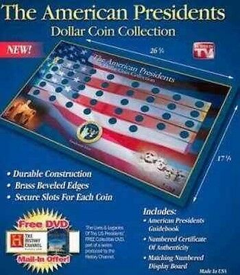 (6) Presidential Dollar Coin Display Books *New*