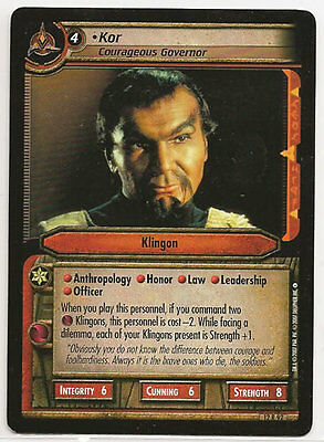 Science Officer Star Trek CCG These Are The Voyages RARE 12R85 Spock