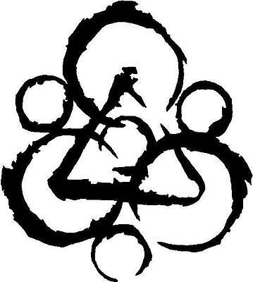 Coheed and Cambria Decal Sticker Free Shipping