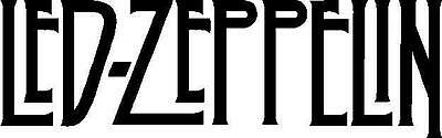 Led Zeppelin Decal Sticker Free Shipping