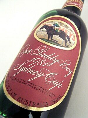 1978 ST HALLETTS Our Paddy Boy 1981 Sydney Cup Port FREE DELIVER Isle of Wine