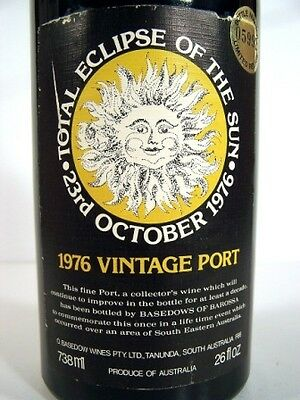 1976 BASEDOWS Eclipse Vintage Port FREE DELIVERY Isle of Wine