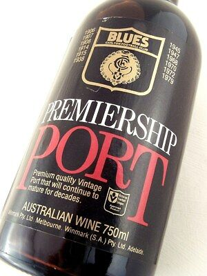1980 CARLTON BLUES Port FREE DELIVERY Isle of Wine