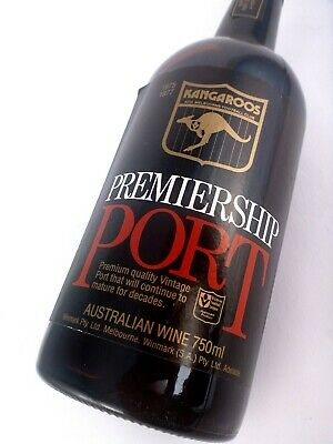 1981 N MELBOURNE KANGAROOS Port FREE DELIVERY Isle of Wine