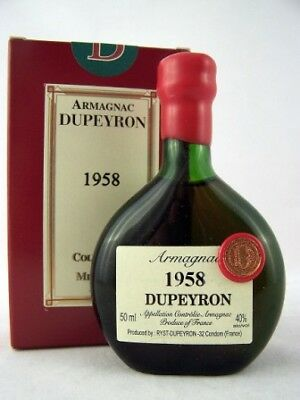 1958 Ryst-Dupeyron Armagnac 50ml France Isle of Wine