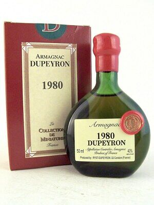 1980 Ryst-Dupeyron Armagnac 50ml France Isle of Wine