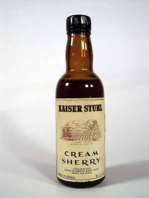 Miniature circa 1969 Kaiser Stuhl Cream Sherry Isle of Wine