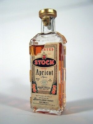 Miniature circa 1969 Stock Apricot Isle of Wine