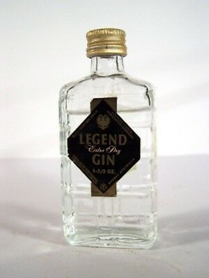 Miniature circa 1969 Legend Extra Dry Gin Isle of Wine