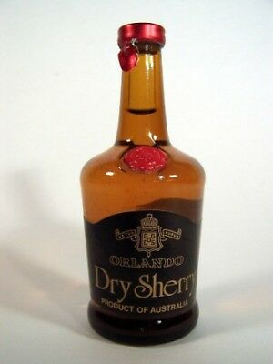 Miniature circa 1975 Orlando Dry Sherry Isle of Wine