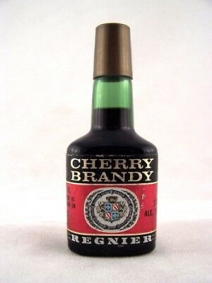 Miniature circa 1973 Regnier Cherry Brandy Isle of Wine