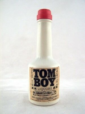 Miniature circa 1976 Tom Boy Liqueur Isle of Wine