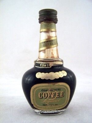 Miniature circa 1965 Continental Coffee Liqueur Isle of Wine