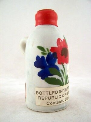 Miniature circa 1974 Deutsches Kirsch Mit Rum Ceramic Isle of Wine