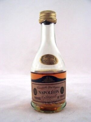 Miniature circa 1972 Salignac Napoleon Brandy Isle of Wine