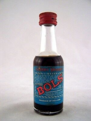 Miniature circa 1972 Bols Cherry Brandy Isle of Wine