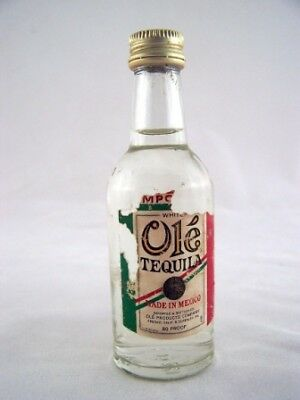Miniature circa 1977 Ole Mexican Tequila Isle of Wine
