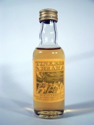 Miniature circa 1979 Tinkers Dram Whisky Isle of Wine