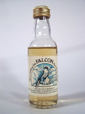 Miniature circa 1972 Falcon Whisky Isle of Wine