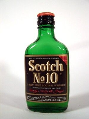 Miniature circa 1969 Scotch No 10 Whisky Isle of Wine
