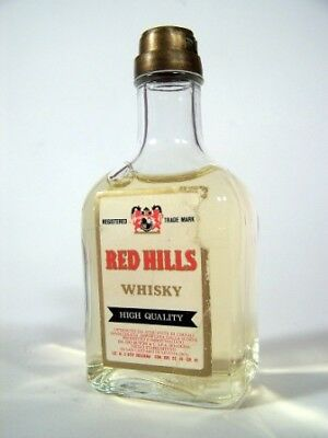 Miniature circa 1978 Red Hills Whisky Isle of Wine
