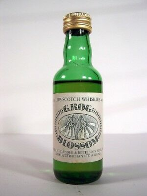 Miniature circa 1978 Strachans Grog Blossom Whisky Isle of Wine
