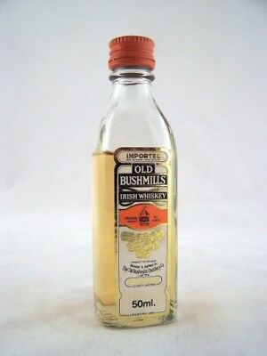 Miniature circa 1979 Old Bushmills Irish Whiskey Isle of Wine