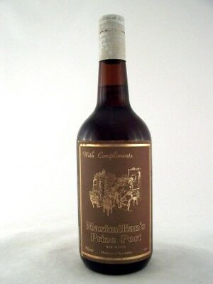 1979 circa MAXIMILIAN'S Prize Port Isle of Wine