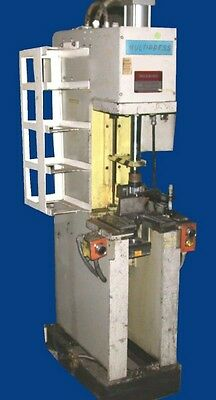 1981 8 Ton Denison FW25087M, C Frame Hydraulic Press