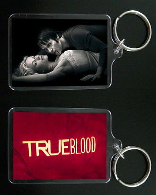 TRUE BLOOD keychain keyring BILL and SOOKIE STACKHOUSE #2