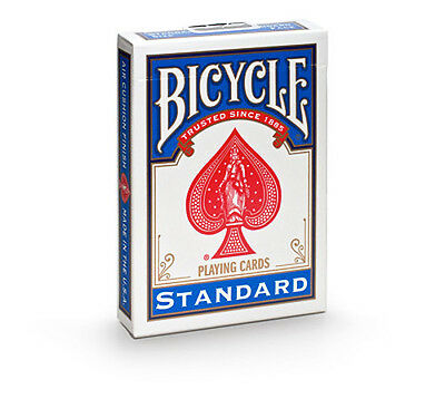 1 New BLUE Deck Bicycle 808 Poker Playing Cards Rider Back