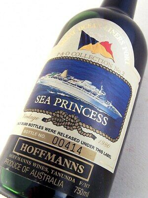 1980 HOFFMANNS Ocean Liners SEA PRINCESS Port Isle of Wine
