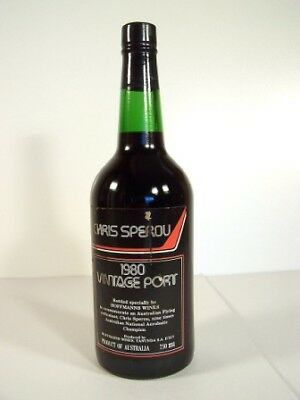 1980 HOFFMANNS Chris Sperou Vintage Port Isle of Wine