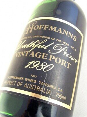 1980 HOFFMANNS Youthful Prince Vintage Port FREE DELIVERY Isle of Wine