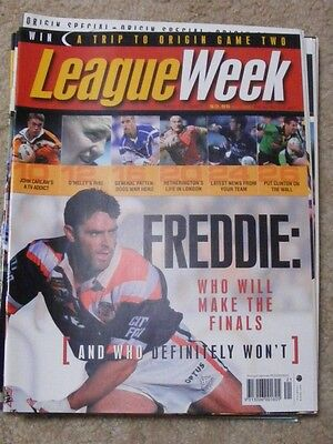 League Week May 17 2001 very good condition