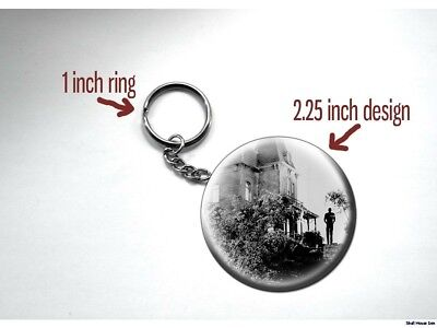 Psycho Alfred Hitchcock Bates Motel Norman Bates House Key Chain