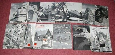 13 Vintage  Phillips 66 Company Magazines 1938-1940 Cool Advertising Photos