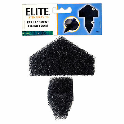 Elite Stingray 10 Fish Filter Replacement Foam Pad